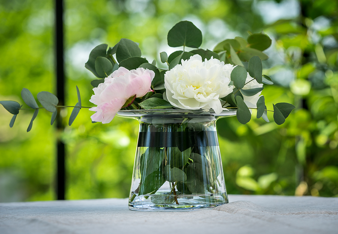 Vases and glass jars