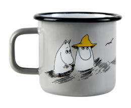 Makia x Moomin, enamel mug,  3,7 dl, Friends