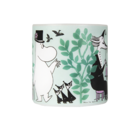 Moomin Candle, 8 cm, Day in the Garden