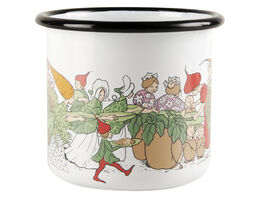 Elsa Beskow enamel mug, 3,7dl, Vegetable people