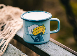 Moomin #oursea Enamel Mug 3,7dl