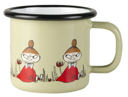 Moomin Friends enamel mug, 1,5dl, Little My