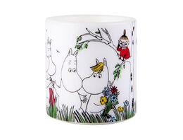 Moomin candle, 8cm, Happy Family