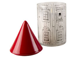 Moomin candle with estinguisher, 17cm, Moomin house
