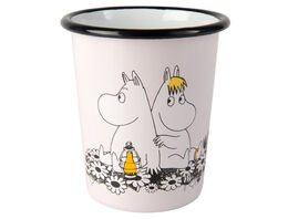 Moomin enamel tumbler, 4dl, Together Forever
