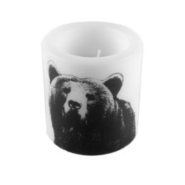 Nordic Candle The Bear 8cm