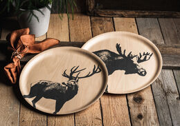 Nordic Tray The Deer 35cm