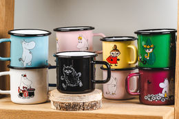 Moomin Enamel Mug Together Forever 3,7dl