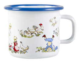 Emil enamel mug, 2,5 dl, The Family