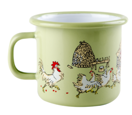 Emil and Ida enamel mug, 2,5dl