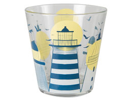 Lighthouse drinking glasses, 27cl, 2pcs