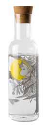 Moomin Forest glass bottle, 1L