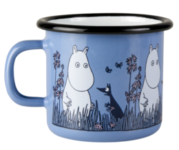Moomin Enamel Mug Friends Moomin 2,5dl