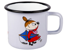 Moomin enamel mug, 2,5dl, Little My
