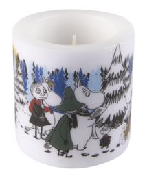 Moomin Candle Winter Forest 8cm