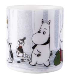 Moomin Candle, 8 cm, Winter Trip