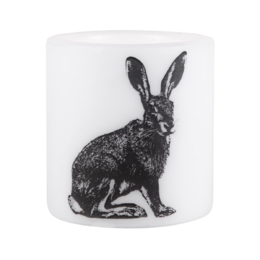Nordic candle, 8 cm, The Hare