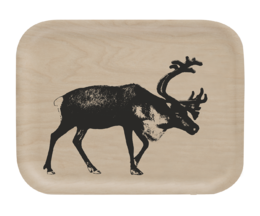 Nordic tray, 27x20cm, The Reindeer