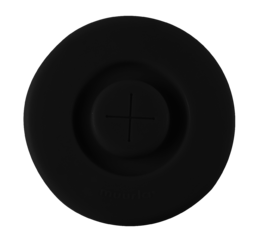 Silicone lid, black