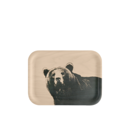 Nordic Tray The Bear 27x20cm