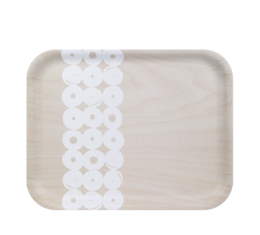Twirl Tray light birch/white 36x28cm