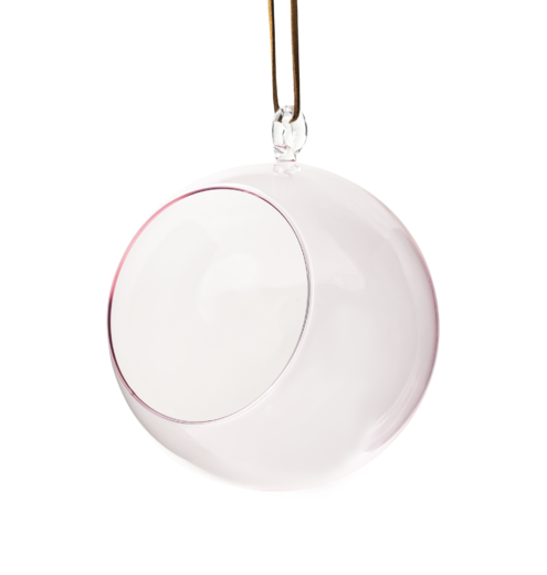 Decoration Ball pink 12cm