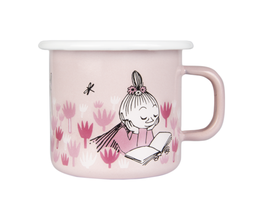 Moomin Enamel Mug, 2,5 dl, Girls