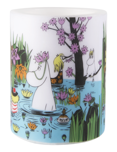 Moomin Candle Trip to the Pond 12cm