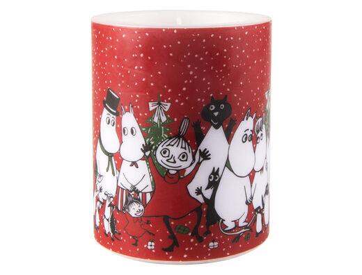 Moomin Candle, 12 cm, Winter Magic
