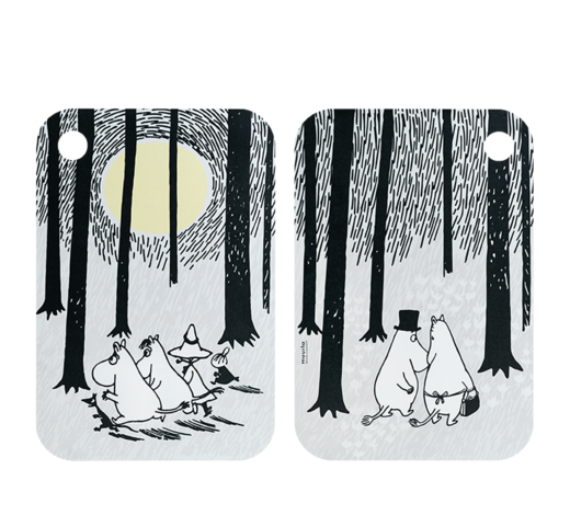 Moomin C&S -Board In the Woods 21x31cm