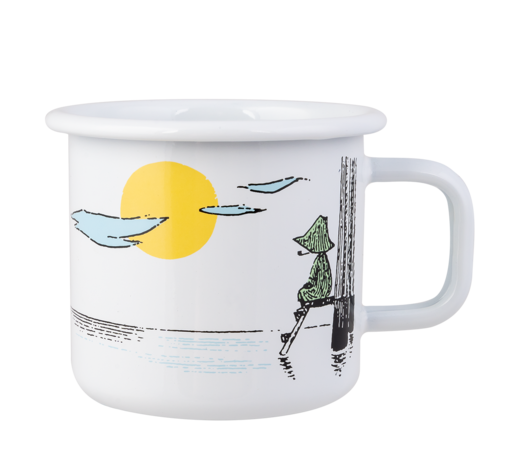 Moomin Originals Enamel Mug Daydreaming 3,7dl