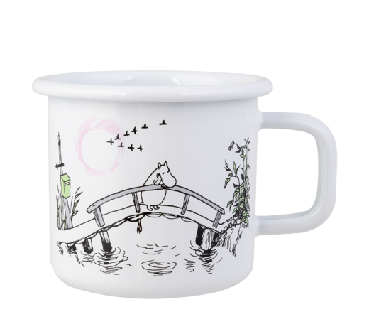 Moomin Originals Enamel Mug Missing You 3,7dl