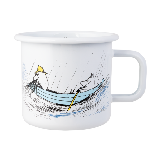 Moomin Originals Enamel Mug Gone Fishing 3,7dl