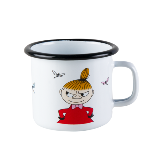 Moomin Enamel Mug Little My 2,5 dl