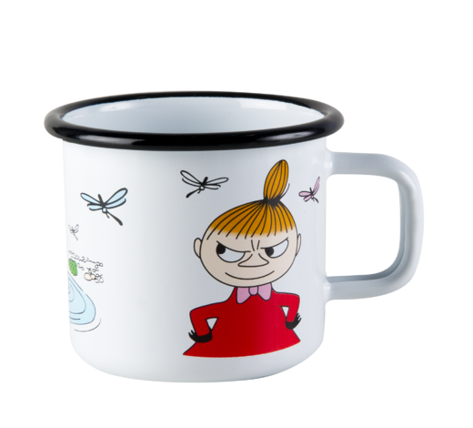 Moomin Enamel Mug Little My 3,7dl