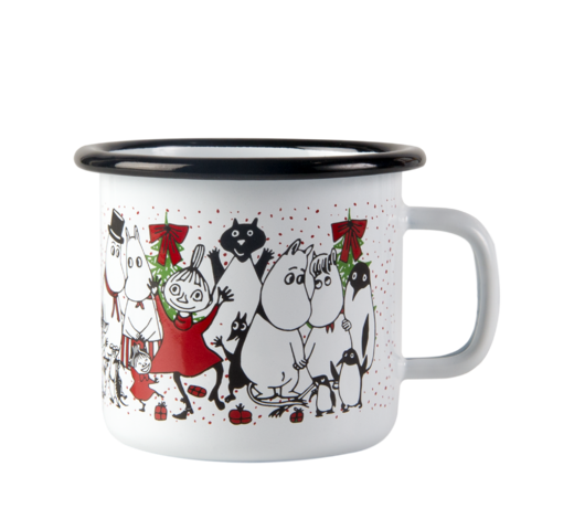 Moomin Enamel Mug Winter Magic 2,5dl