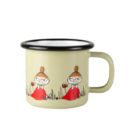Moomin Enamel Mug Friends Little My 1,5dl