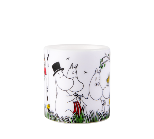 Moomin Candle Happy Family 8cm