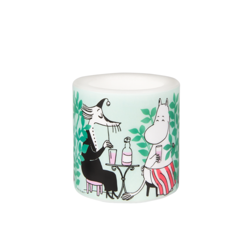 Moomin Candle Day in the Garden 8cm