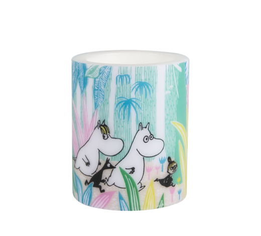 Moomin Candle Moomins in the Jungle 12cm