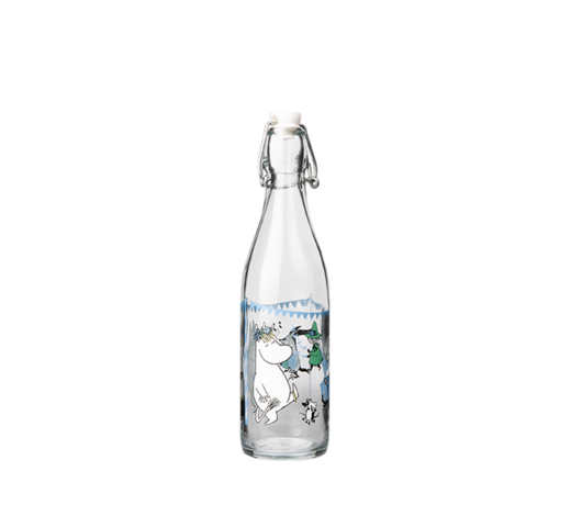 Moomin Glass Bottle Summer Party 0,5L
