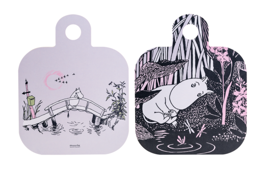 Moomin Chop & Serve serving/cutting board, 25x32cm, Missing you