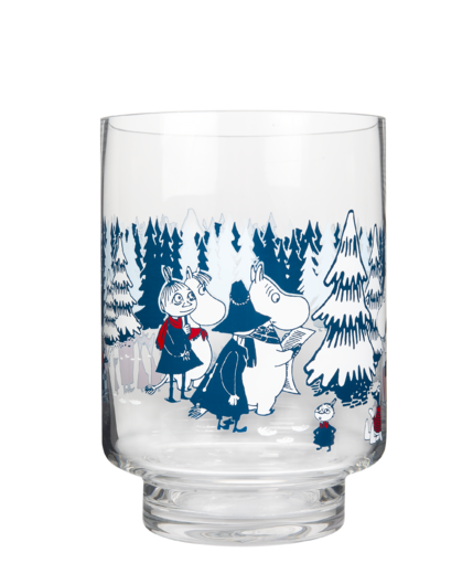 Moomin Candle Holder/Jar Winter Forest 20cm