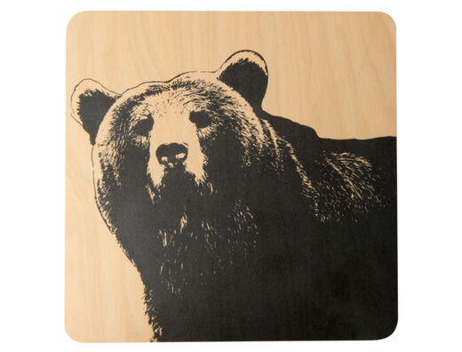 Nordic trivet, 20x20cm, The Bear