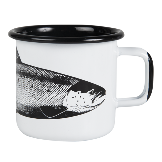 Nordic Enamel Mug The Salmon 3,7dl