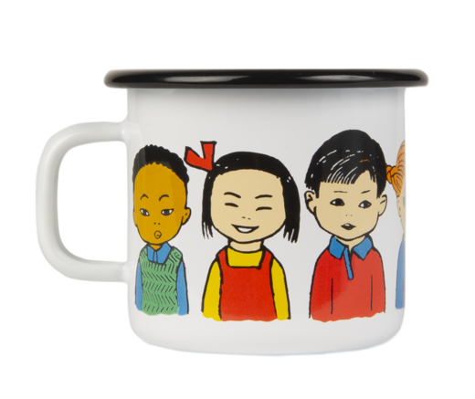 Pippi Enamel Mug #Pippi of Today 2,5dl