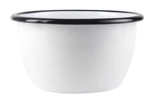 Basic enamel bowl, 6dl, white
