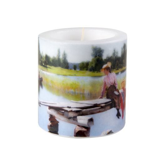 Summer candle, 8cm