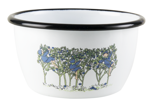 Elsa Beskow enamel bowl, 3dl, Blueberries
