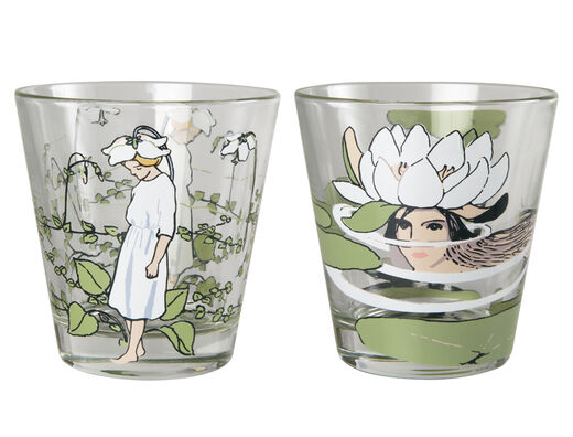 Elsa Beskow drinking glasses, 2pcs/pkg
